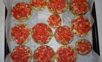 выкладываем помидор