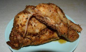 курица в пергаменте